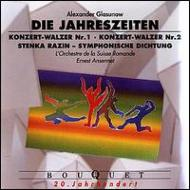 The Seasons, Concert Waltze, 1, 2, Stenka Rasin: Ansermet / Sro