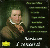 ピアノ協奏曲全集、ヴァイオリン協奏曲、三重協奏曲 ポリーニ、フェラス、ムター、マ、ほか