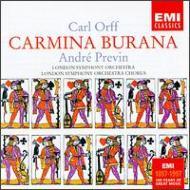 Carmina Burana: Previn / Lso & Cho S.armstrong G.english T.allen