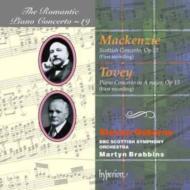 (ロマンティック・ピアノ協奏曲集 第19巻)トーヴィー:ピアノ協奏曲 op.15他 オズボーン(p)/ブラビンズ