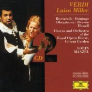 『ルイザ・ミラー』 ドミンゴ(T)、マゼール / コヴェントガーデン・ロイヤル・オペラハウス管弦楽団