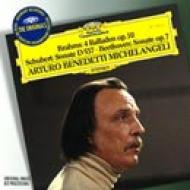 Michelangeli Beethoven, Schubert: Piano Sonata, 4, Brahms: Ballades