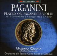 Violin Concerto.3, 5: Quarta(Vn)genoa Teatro Carlo Felice.o