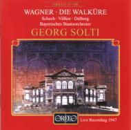 ワーグナー(1813-1883)/Die Walkure(Act.1): Solti / Bavarian State Opera O(1947)