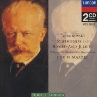 チャイコフスキー/交響曲第1,2,3番 マゼール/ウィーン・フィルハーモニー管弦楽団