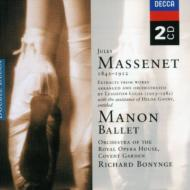 マスネ(1842-1912)/Manon(Ballet): Bonynge / Royal Opera House Covent Garden