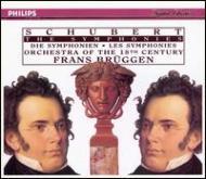Comp.symphonies: Bruggen / 18th Century O