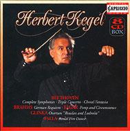 Herbert Kegel: Beethoven, Brahms, Orch.pieces