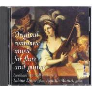 Duo-instruments Classical/Original Romantic Music For Flute & Guitar: Dreier(Fl) Maruri(G)