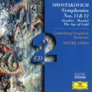 交響曲第11、12番、他 ヤルヴィ&エーテボリ交響楽団