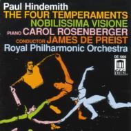 4 Temperaments、Nobilissima Visione Depreist / ロイヤル・フィル、Rosenberger(P)