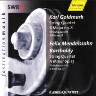 String Quartet, 2, : Klenke Q +goldmark