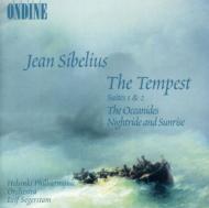 『テンペスト』第1組曲、第2組曲、大洋女神、他 セーゲルスタム&ヘルシンキ・フィル
