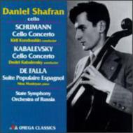 Shafran: Schumann, Kabalevsky: Cello Concerto +haydn, Falla