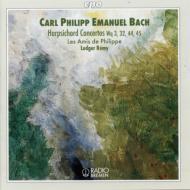 ハープシコード協奏曲集Wq3/Wq43/Wq44/Wq45 フィリップ/レミー