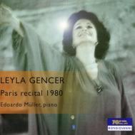 Leyla Gencer(S)Paris Recital1980