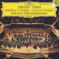 Overtures, Preludes: Abbado / Bpo
