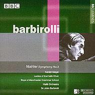 交響曲第3番 バルビローリ&ハレ管(ステレオ)