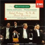 ベートーヴェン(1770-1827)/Triple Concerto: Barenboim Perlman Ma / Bpo Choral Fantasy