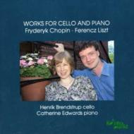 Works For Cello & Piano: Brendstrup(Vc)c.edwards(P)