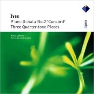 コンコード・ソナタ、四分音の3つの作品 アレクセイ・リュビモフ、ピエール=ロラン・エマール、ロラン・ヴェルネイ、他