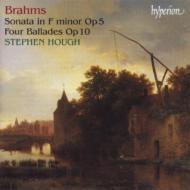 ブラームス:ピアノ・ソナタ第3番、4つのバラード ハフ(p)