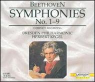 交響曲全集 ケーゲル&ドレスデン・フィル(5CD)