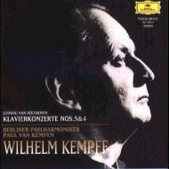 ピアノ協奏曲第5番『皇帝』、第4番 ヴィルヘルム・ケンプ、パウル・ファン・ケンペン&ベルリン・フィル