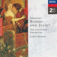 『ロメオとジュリエット』全曲 マゼール&クリーヴランド管弦楽団(2CD)