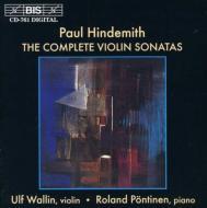 Comp.violin Sonatas: Wallin(Vn)pontinen(P)