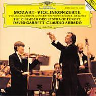 ヴァイオリン協奏曲第4番、第7番、ヴァイオリン・ソナタ第40番 ギャレット、アバド&ヨーロッパ室内管、ゴラン