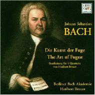 Die Kunst Der Fuge: Breuer / Berlin Bach Academy Leipzig Sq Etc