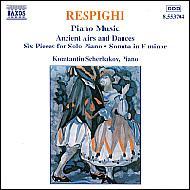 <ピアノ作品集Vol.1>リュートのための古風な舞曲とアリア他 シチェルヴァコフ