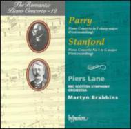 (ロマンティック・ピアノ協奏曲集 第12巻)パリー&スタンフォード:ピアノ協奏曲 ピアーズ・レーン(p)/ブラビンズ