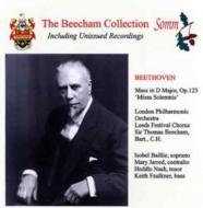 Missa Solemnis: Beecham / Lpo
