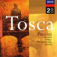 歌劇『トスカ』全曲 ニルソン、コレッリ、F-ディースカウ、マゼール&聖チェチーリア(2CD)