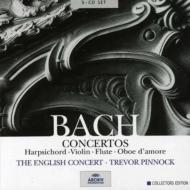 チェンバロ協奏曲全集、ヴァイオリン協奏曲集、他 ピノック&イングリッシュ・コンサート(5CD)