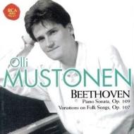ピアノ・ソナタ第30番、10の主題と変奏 オッリ・ムストネン