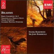 Piano Concerto.1, 2: Barenboim(P)Barbirolli / Npo +overtures, Variations