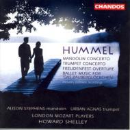 フンメル:マンドリン協奏曲、トランペット協奏曲、「祝宴」序曲ほか シェリー/ロンドン・モーツァルト・プレイヤーズ