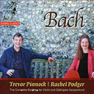 Violin Sonatas.1-6: Podger(Vn)pinnock(Cemb)manson(Gamba)