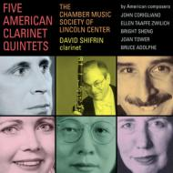 Five American Clarinet Quintets: D.shifrin(Cl)Lincoln Center Chamber Music Society