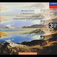メンデルスゾ−ン:交響曲全集 他 ドホナーニ/ウィーン・フィル