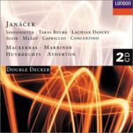 管弦楽作品集(シンフォニエッタ、タラス・ブーリバ、ほか) マッケラス&ウィーン・フィル、ほか(2CD)