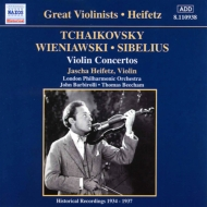 ヴァイオリン協奏曲 ハイフェッツ/バルビローリ/ビーチャム/ロンドン・フィル