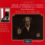 ベートーヴェン:交響曲第3番『英雄』、モーツァルト:交響曲第41番『ジュピター』 クーベリック&ウィーン・フィル(2CD)