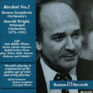 Harold Wright Recital Vol.2
