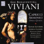 Capricci Armonici: Letzbor(Vn)Lackner(Tp)Zerer(Cemb)Etc