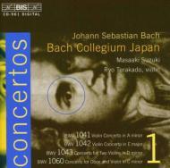 ヴァイオリン協奏曲第1、2番、ほか 寺神戸亮(vn)、鈴木雅明&バッハ・コレギウム・ジャパン