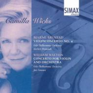 Violin Concerto.4 / : Wicks(Vn)blomstedt, Simonov / Oslo.po
